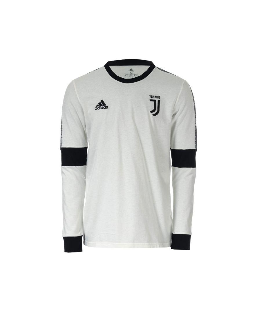 Image for Men's adidas Juventus Seasonal Special Long-Sleeve T-Shirt in White