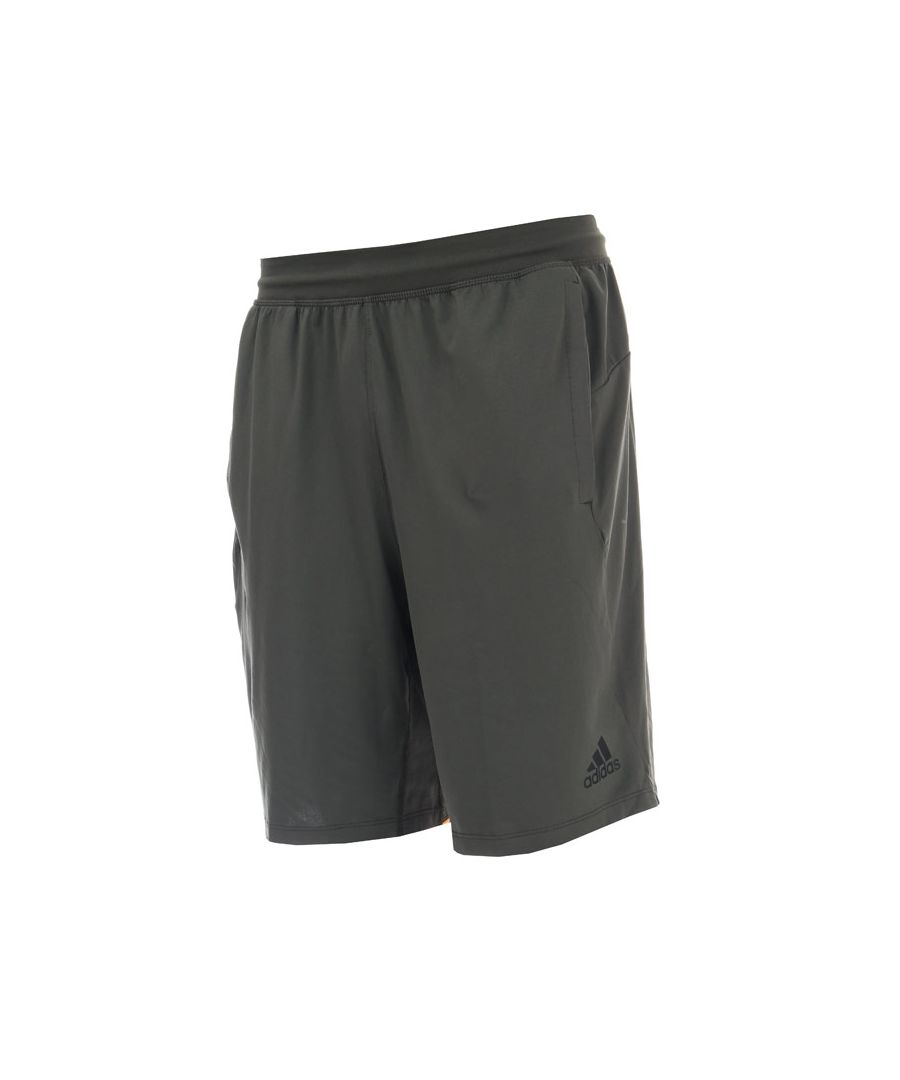 Image for Men's adidas 4KRFT Sport Ultimate 9-Inch Knit Shorts in Green
