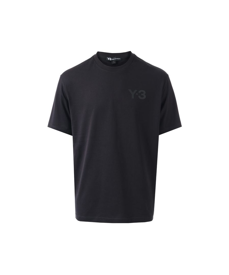 Image for Men's Y-3 Classic Logo T-Shirt in Black