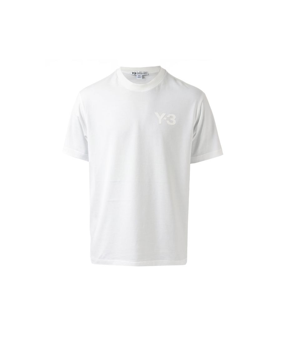 Image for Men's Y-3 Classic Logo T-Shirt in White