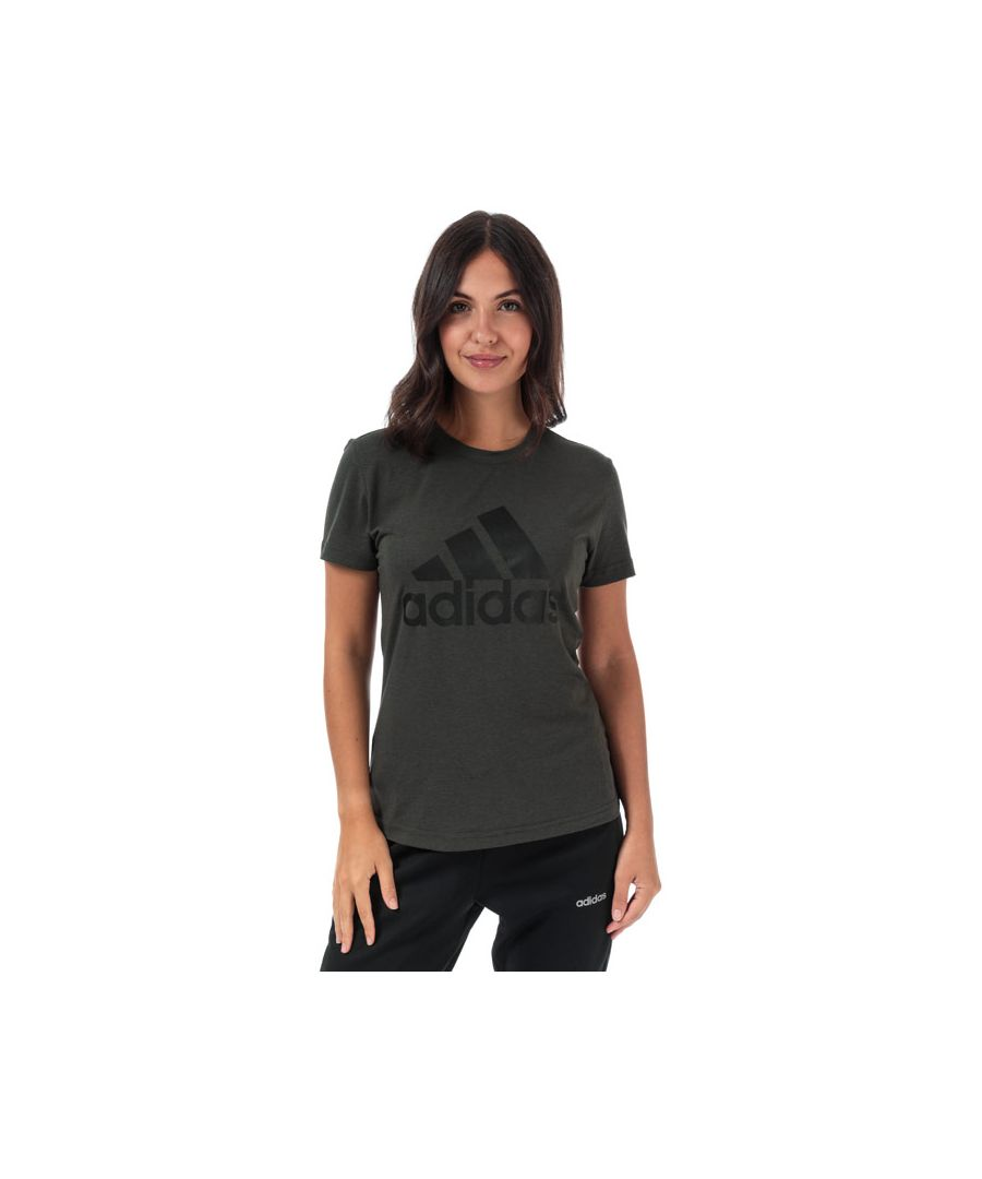 Image for Women's adidas Must Haves Badge Of Sport T-Shirt in olive