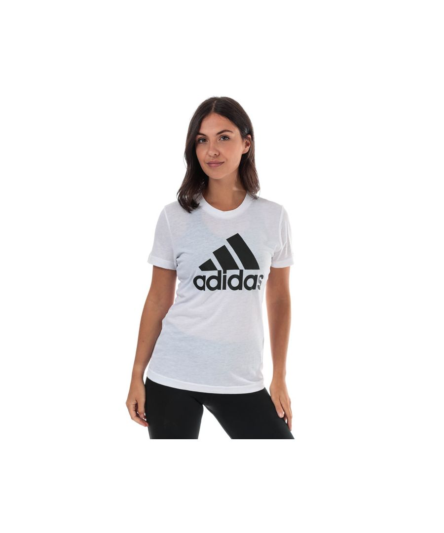 Image for Women's adidas Must Haves Badge Of Sport T-Shirt in White