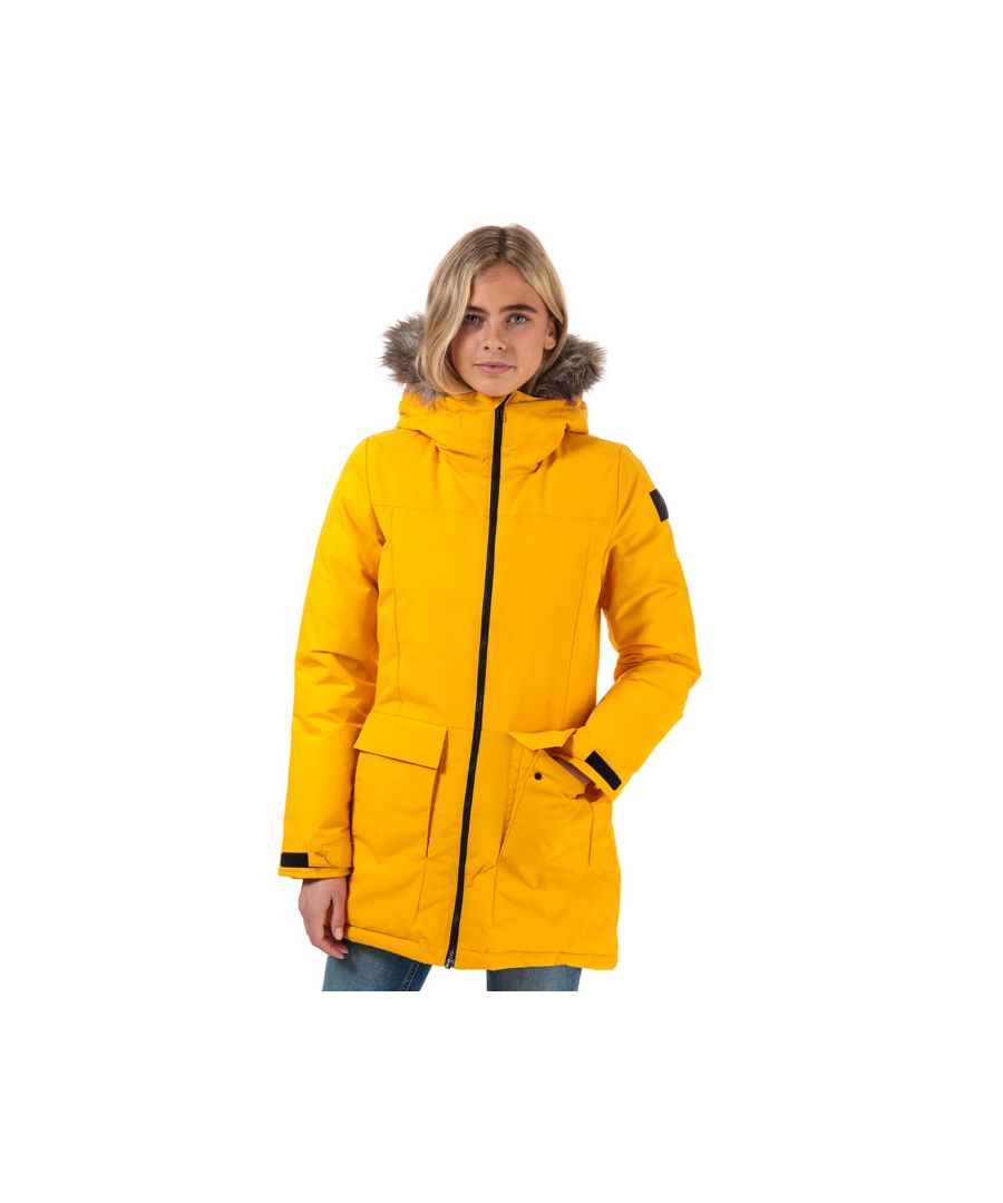 Image for Women's adidas XPLORIC Parka Jacket in Gold
