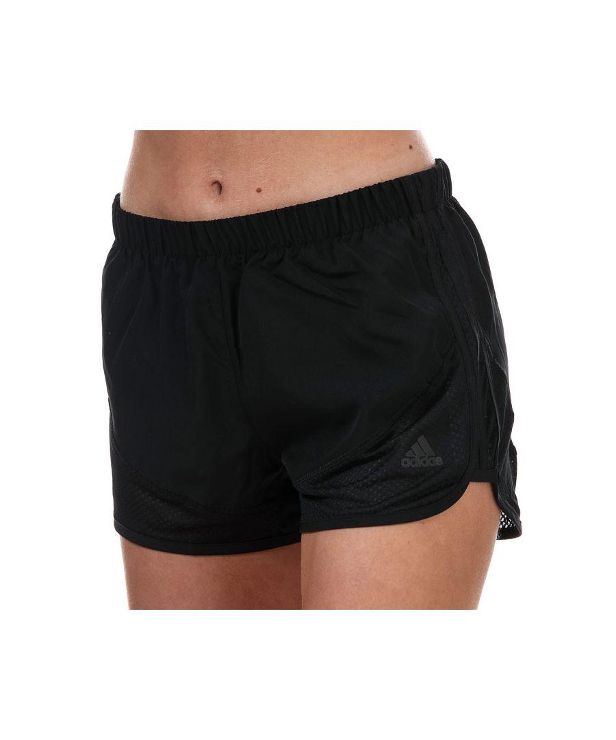 Image for Women's adidas Marathon 20 Light Speed 3 Inch Shorts Black 8-10in Black