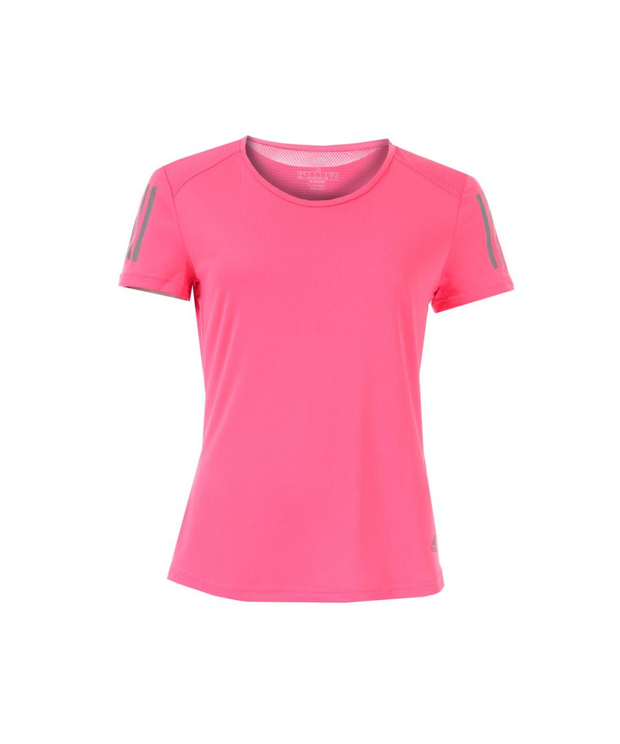 Image for Women's adidas Own The Run T-Shirt in Pink