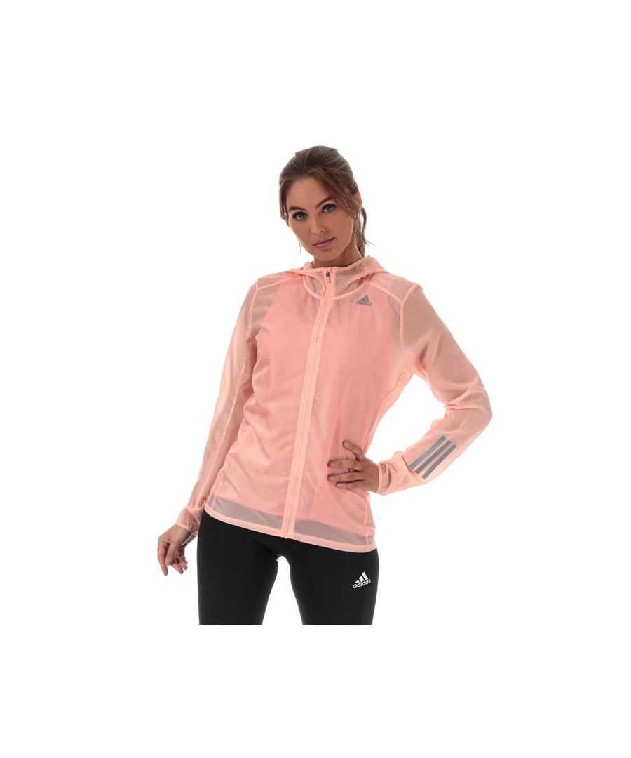 Image for Women's adidas Response Jacket in Pink