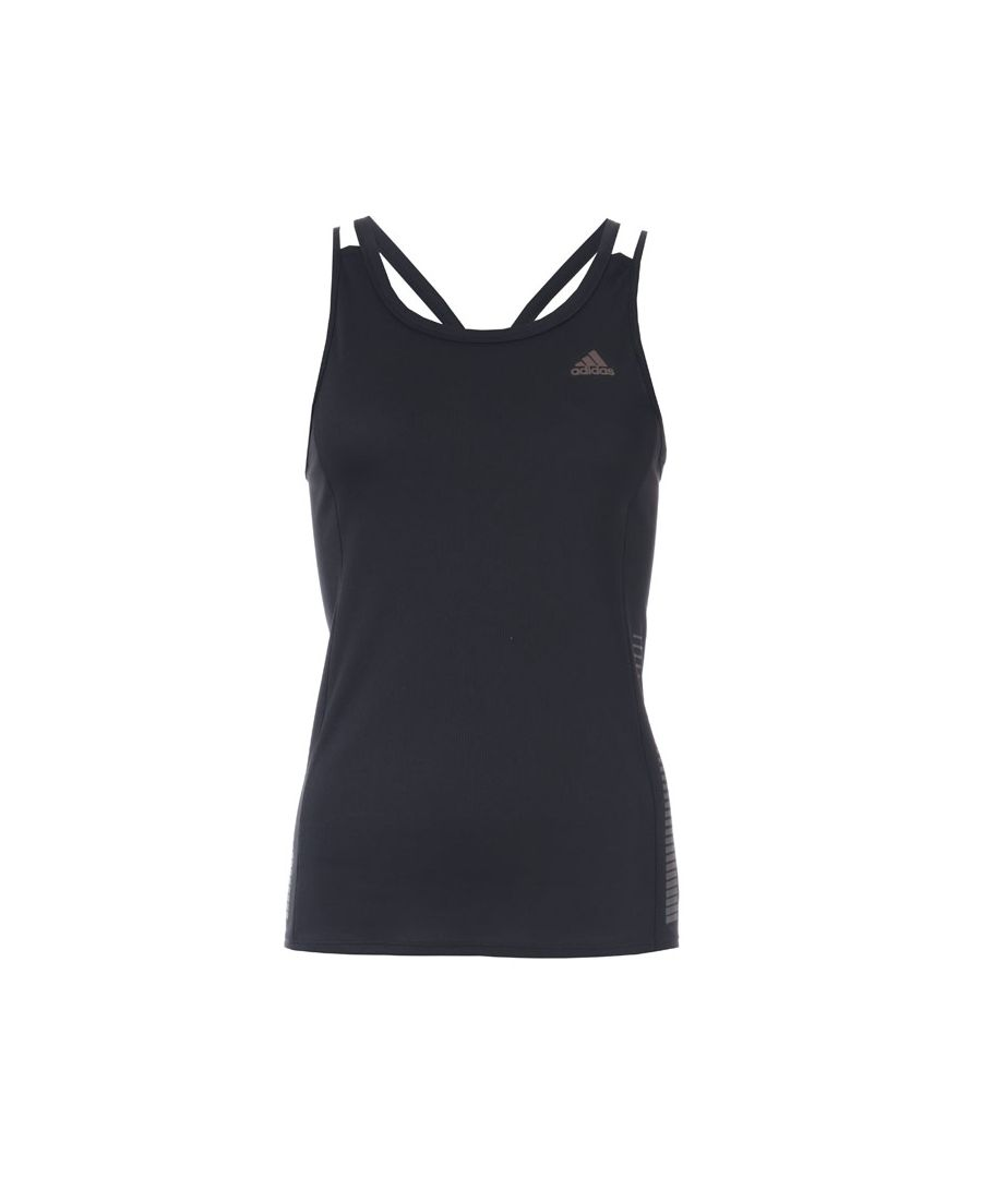 Image for Women's adidas Rise Up N Run Tank Top in Black