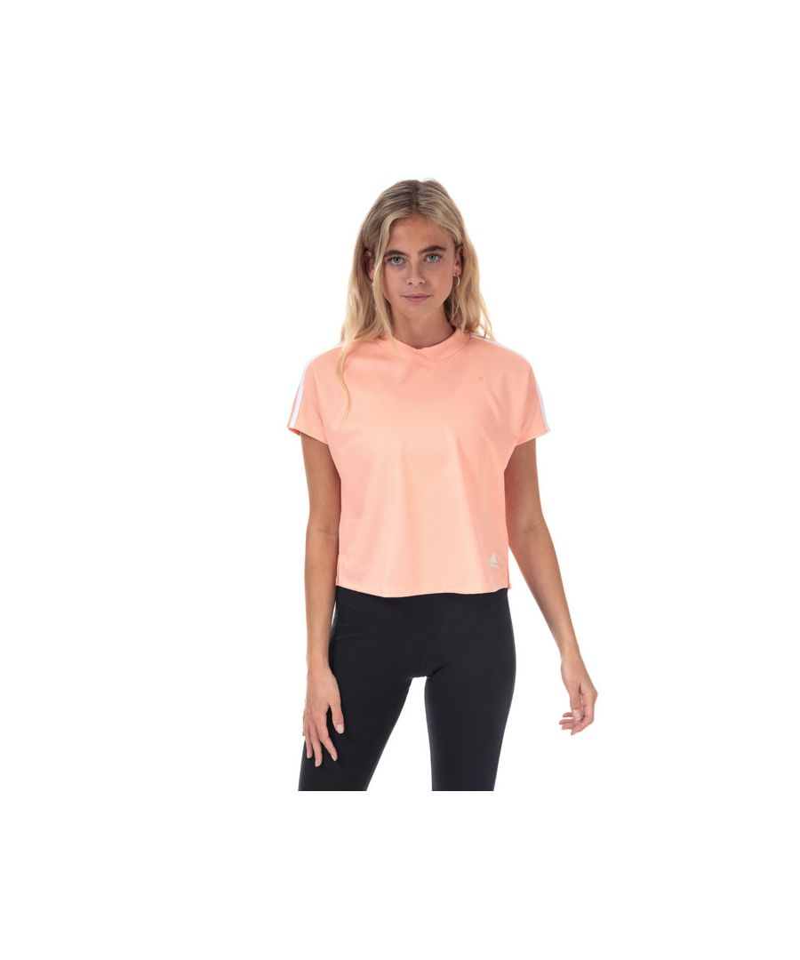 Image for Women's adidas AtTEEtude T-Shirt in Pink white