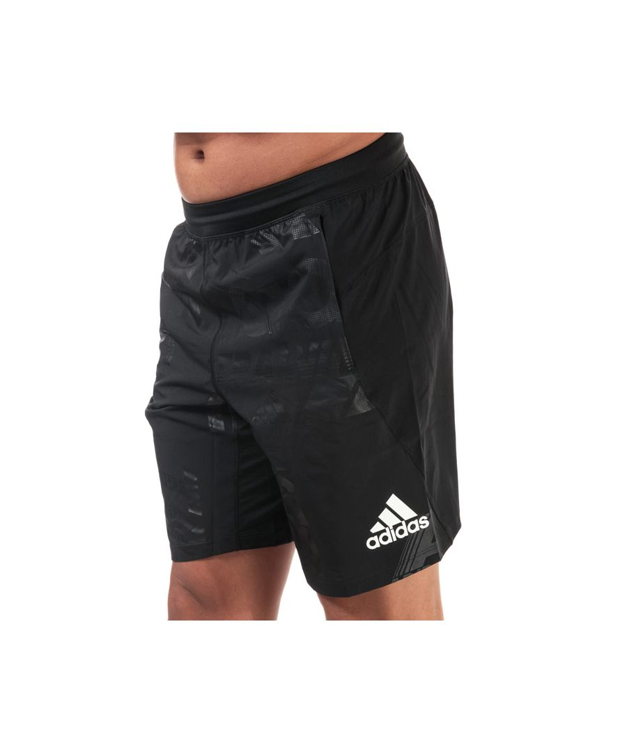 Image for Men's adidas 4KRFT Daily Press 10 Inch Shorts in Black