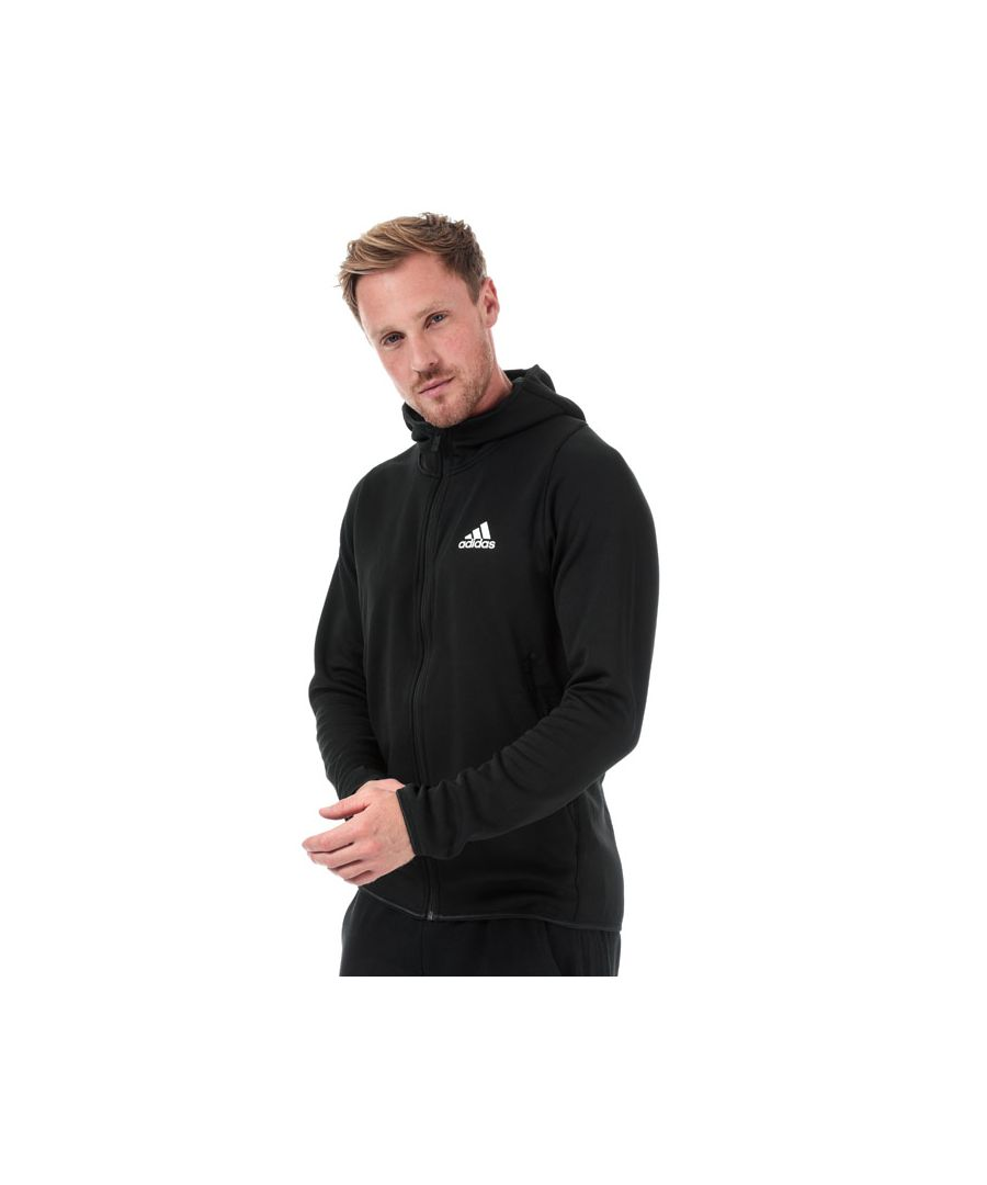 Image for Men's adidas Free Lift Climawarm Hoody in Black