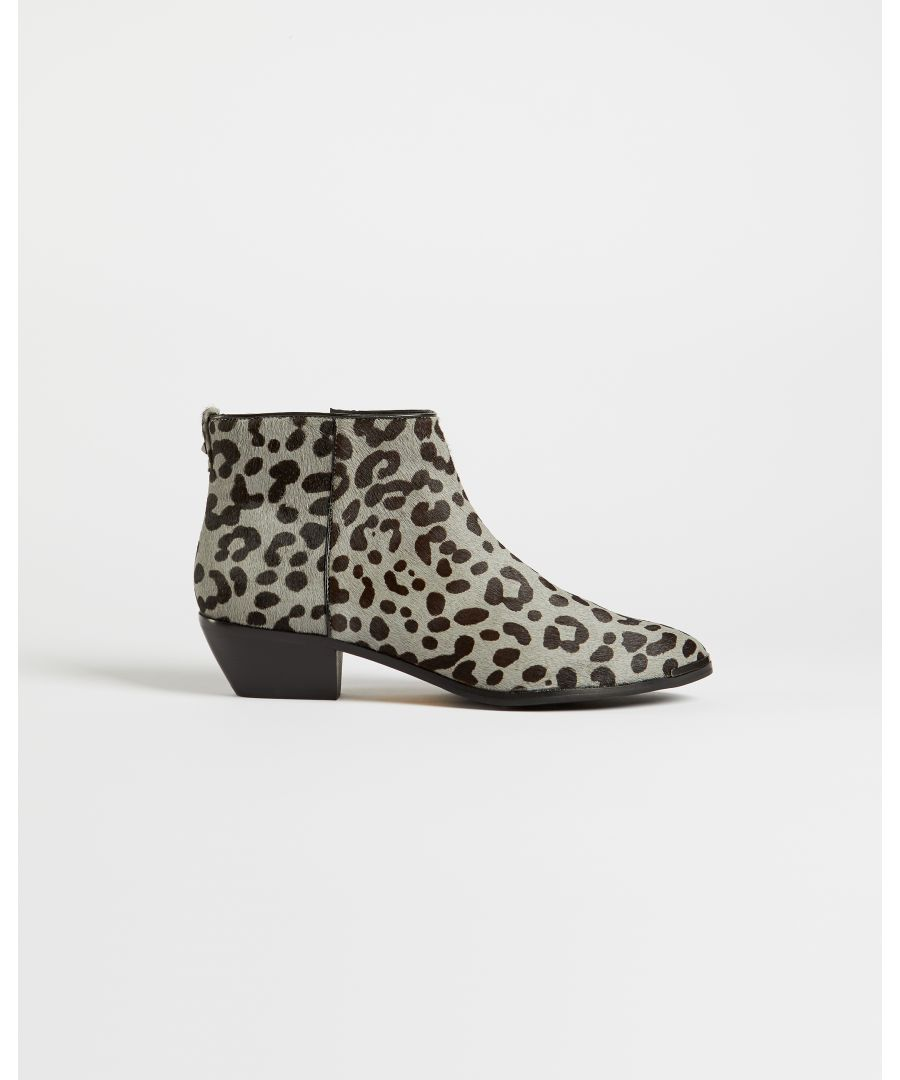 Image for Ted Baker Loriina Exotic Skin Boot, Grey