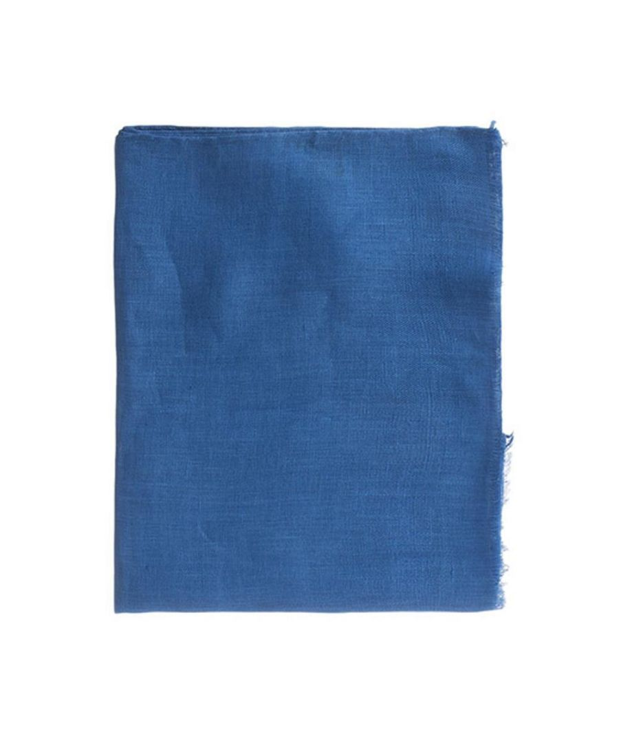 Image for Men's Hackett, Lined Solid Scarf in Royal Blue