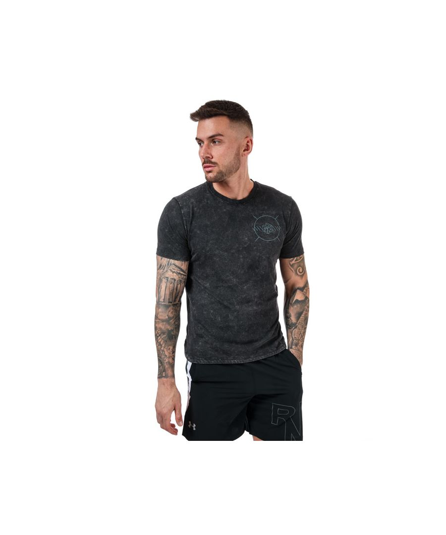 Image for Men's Under Armour Run Anywear T-Shirts in Black