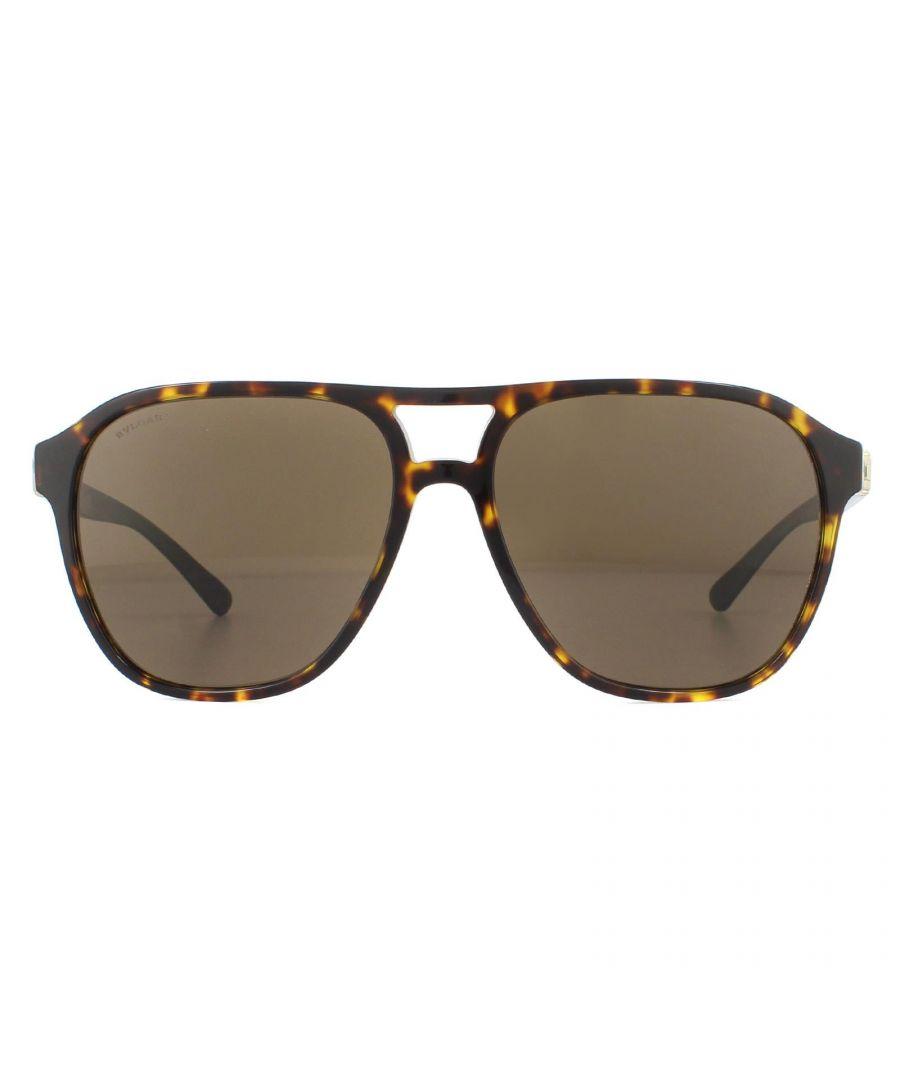 Image for Bvlgari Sunglasses BV7034 504/73 Dark Havana Brown
