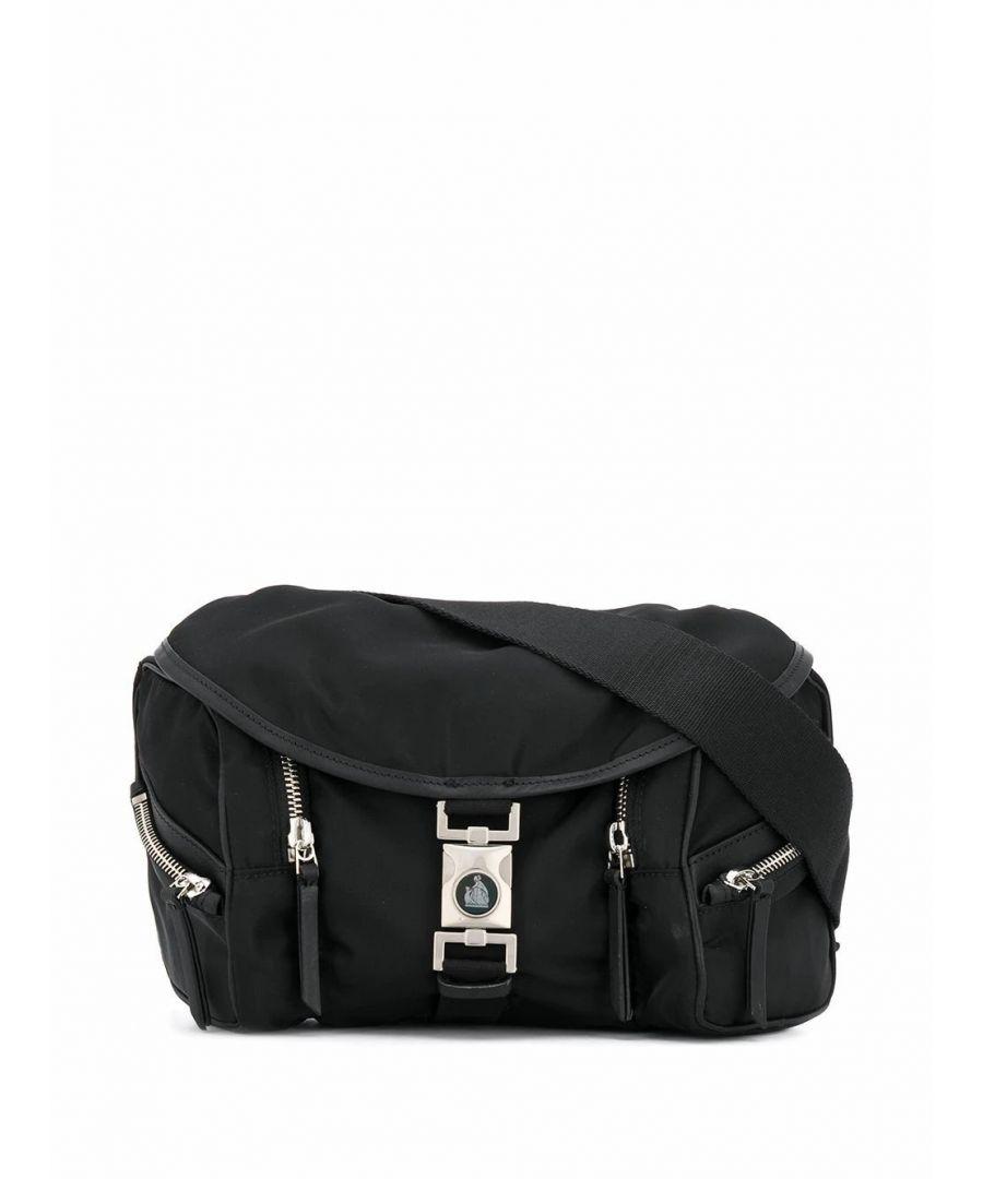 Image for LANVIN MEN'S LMBGFB00DAVIP2010 BLACK POLYAMIDE BELT BAG