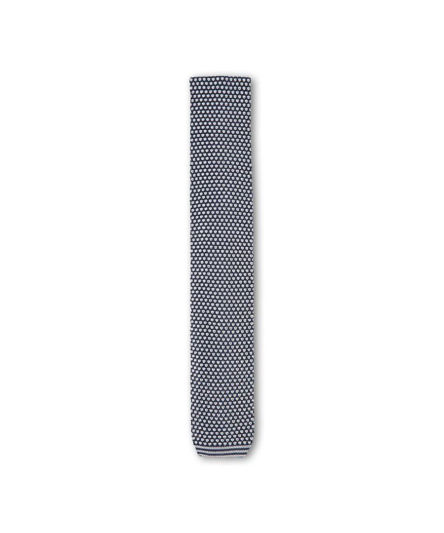 Image for Men's Hackett Knitted Neat Tie in Navy