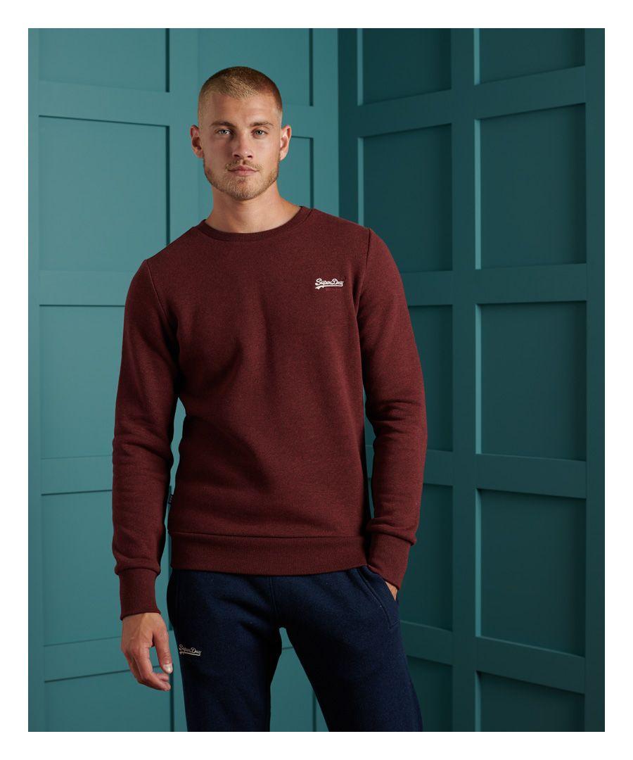 Image for Superdry Orange Label Classic Crew Sweatshirt