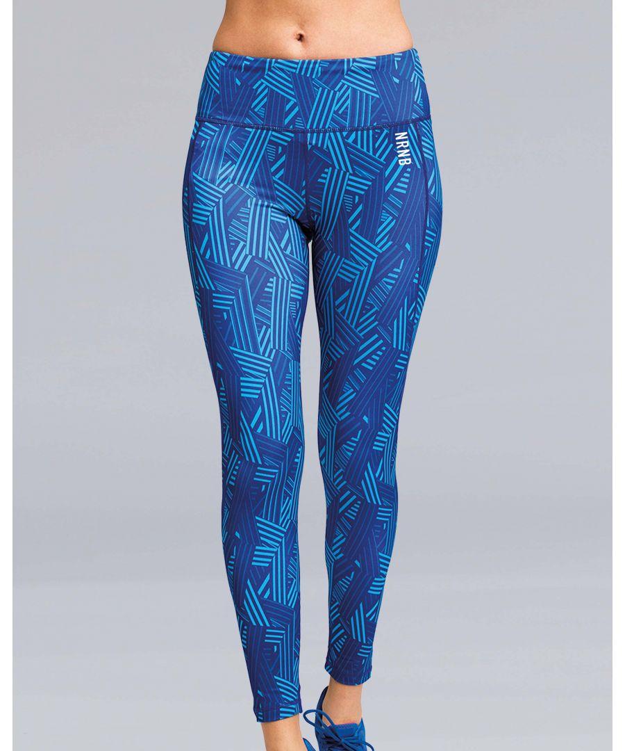 Image for Crossline Performance Leggings in Blue