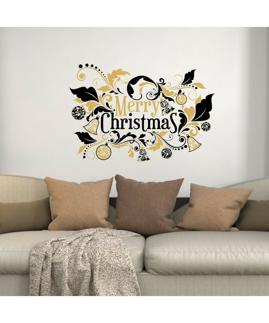 Image for WS6301 - Floral Merry Christmas