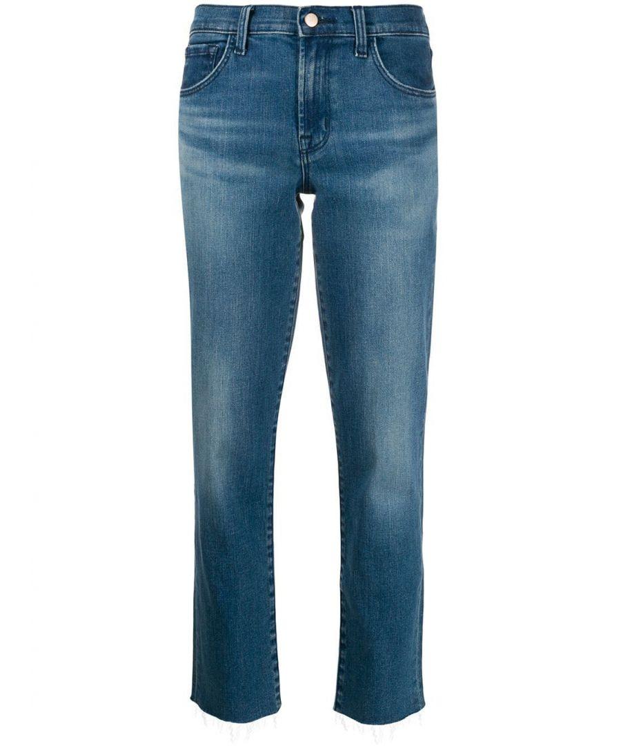 Image for J BRAND WOMEN'S JB002708J43016 BLUE COTTON JEANS