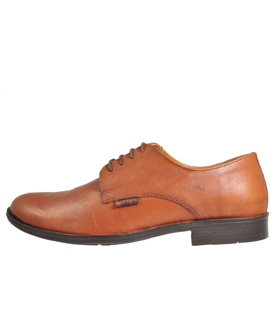 Image for Red Tape Regency Oxford Leather Men's Trainers