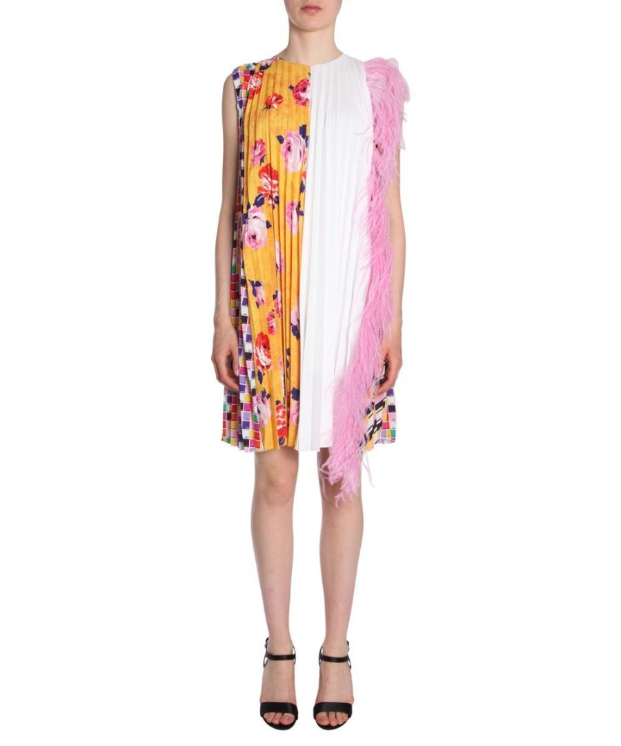 Image for MSGM WOMEN'S 2543MDA14P18472507 MULTICOLOR POLYESTER DRESS