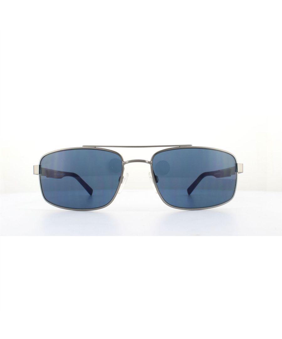 Image for Tommy Hilfiger Sunglasses Th 1674/S R81 Ku Matt Ruthenium Blue Avio