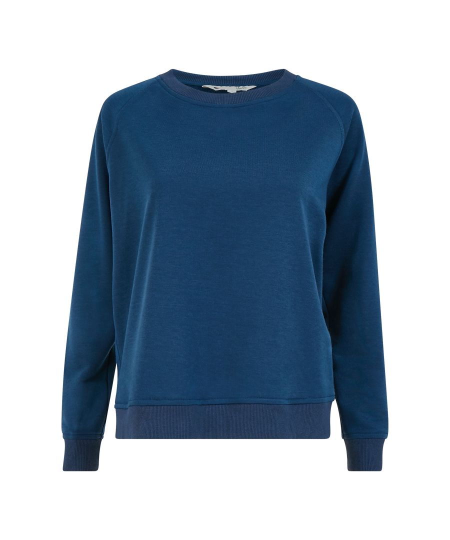 Image for Yumi Navy Relaxed Sweatshirt