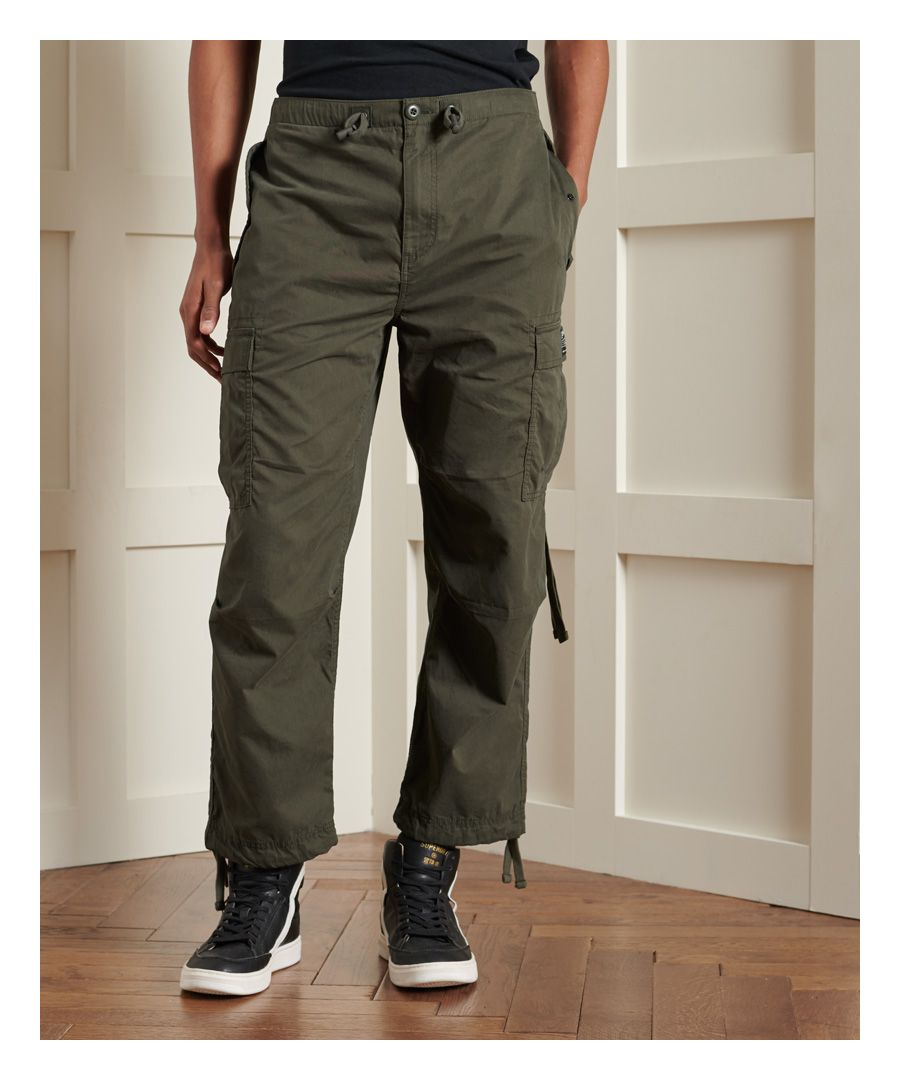 Image for Superdry Parachute Taper Grip Pants