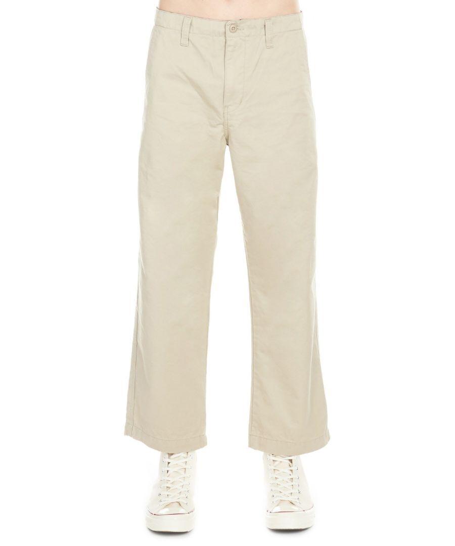 Image for CARHARTT MEN'S I02492400 BEIGE COTTON PANTS