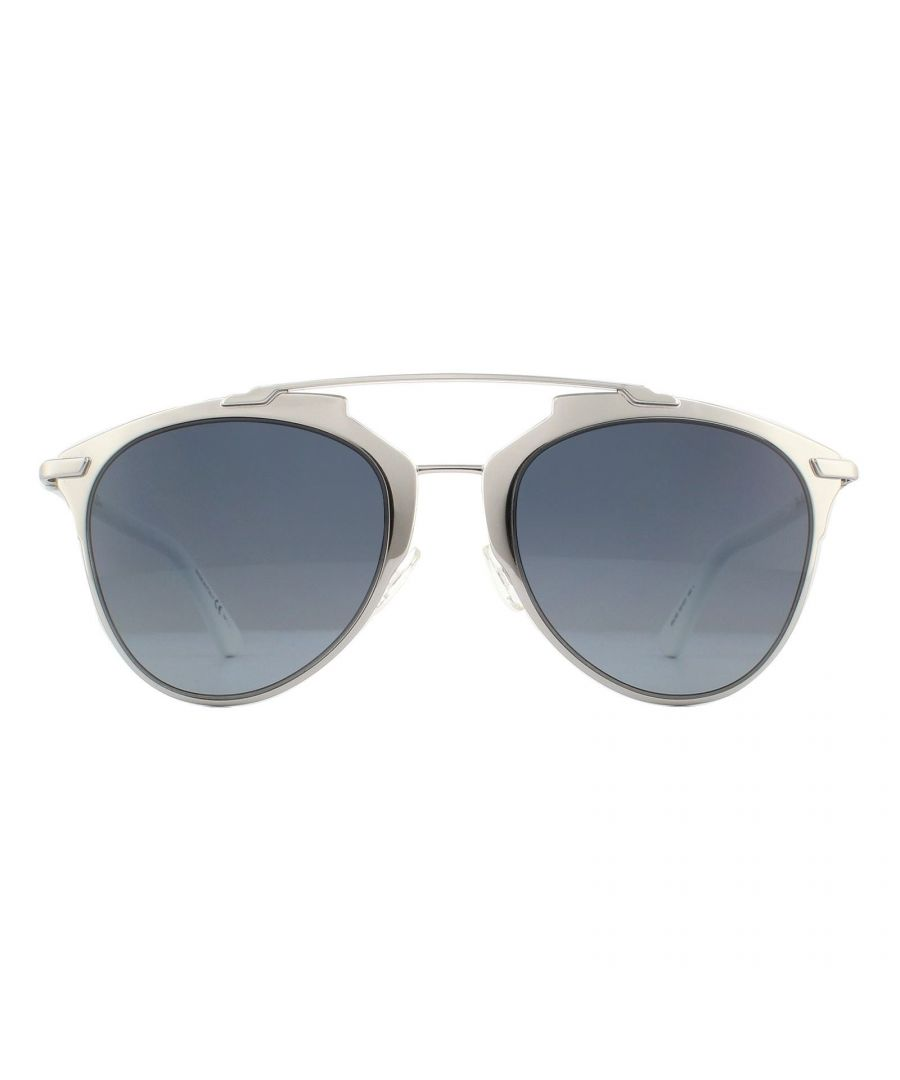 Image for Dior Sunglasses Reflected 85L HD White Grey Gradient