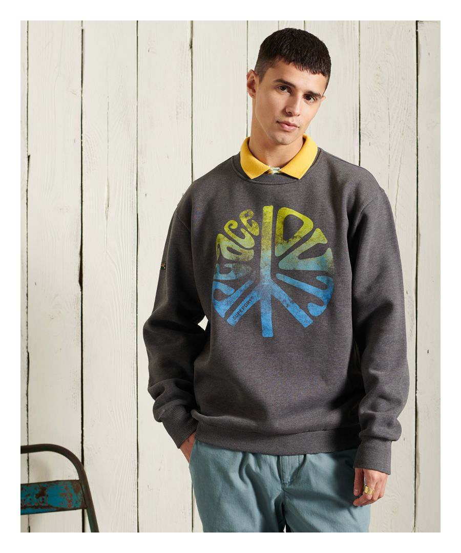 Image for Superdry Military Non Branded Crew Sweatshirt