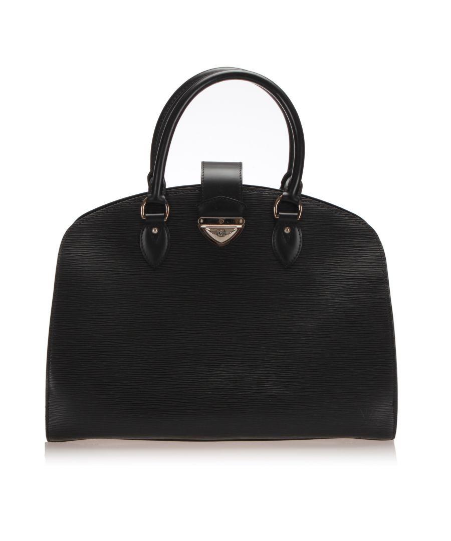 Image for Vintage Louis Vuitton Epi Pont Neuf GM Black