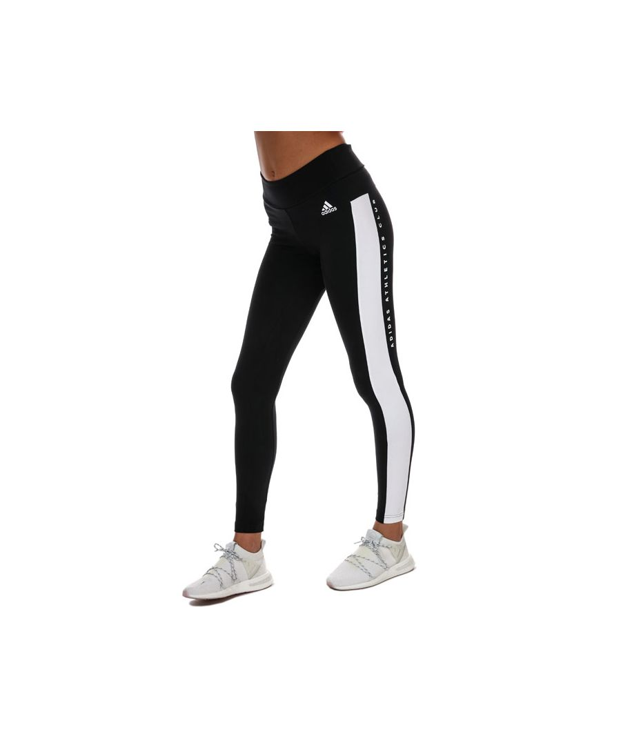 Image for Women's Adidas Key Pocket Tights in Black-White
