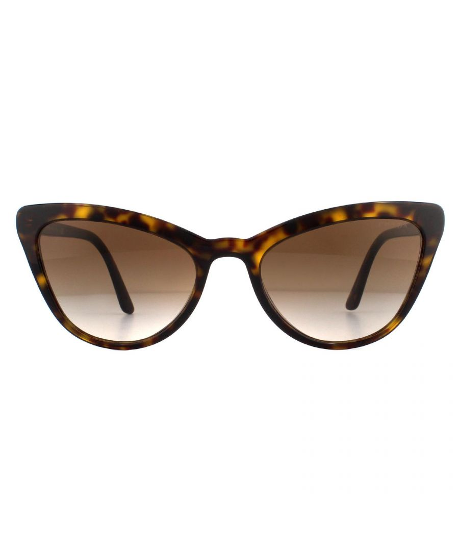 Image for Prada Sunglasses Pr01Vs 2Au6S1 Havana Brown Gradient