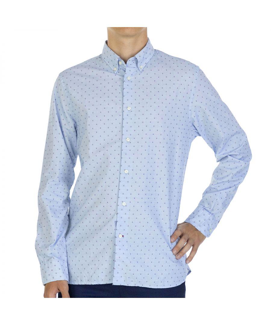 Image for Tommy Hilfiger Men Shirt   Full sleeve Blue