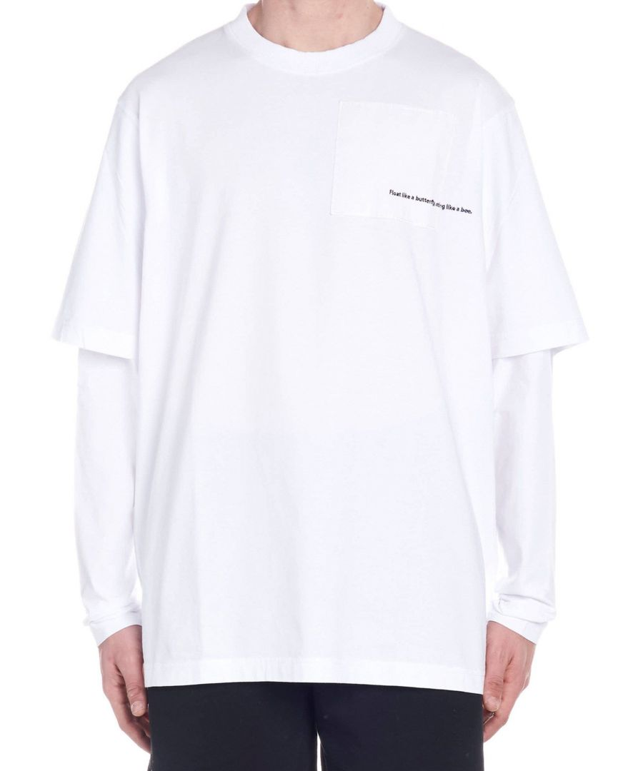 Image for MARCELO BURLON MEN'S CMAB026R190010010188 WHITE COTTON T-SHIRT
