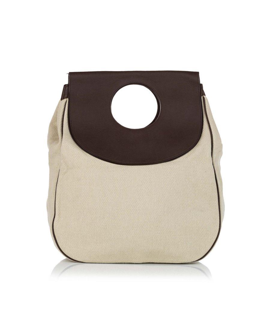 Image for Vintage Balenciaga Edition Canvas Tote Bag Brown