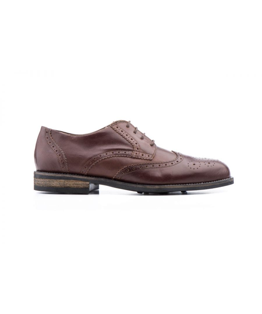 Image for Purapiel Oxford Shoe in Brown