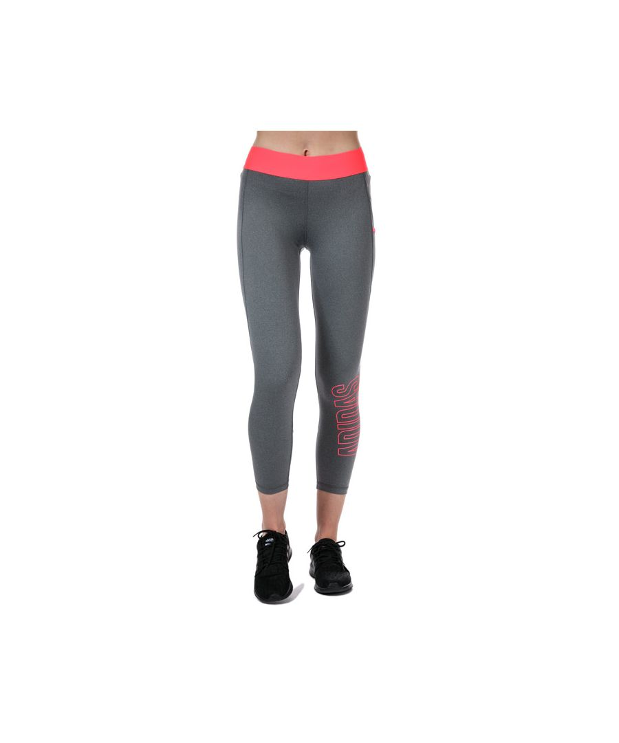 Image for Women's adidas Alphaskin 7/8 Leggings in Grey pink