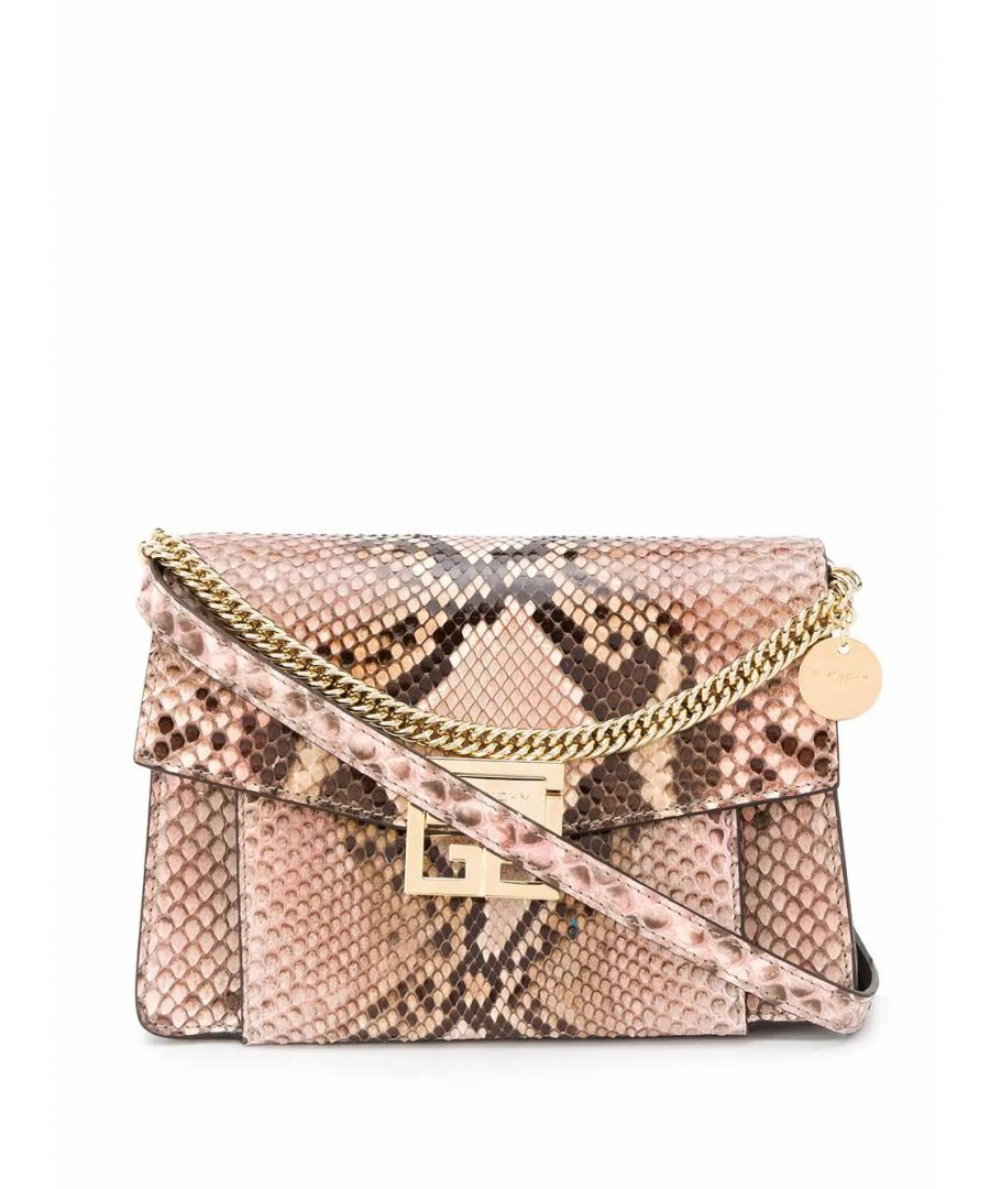 Image for GIVENCHY WOMEN'S BB501CB0Q8688 PINK LEATHER SHOULDER BAG