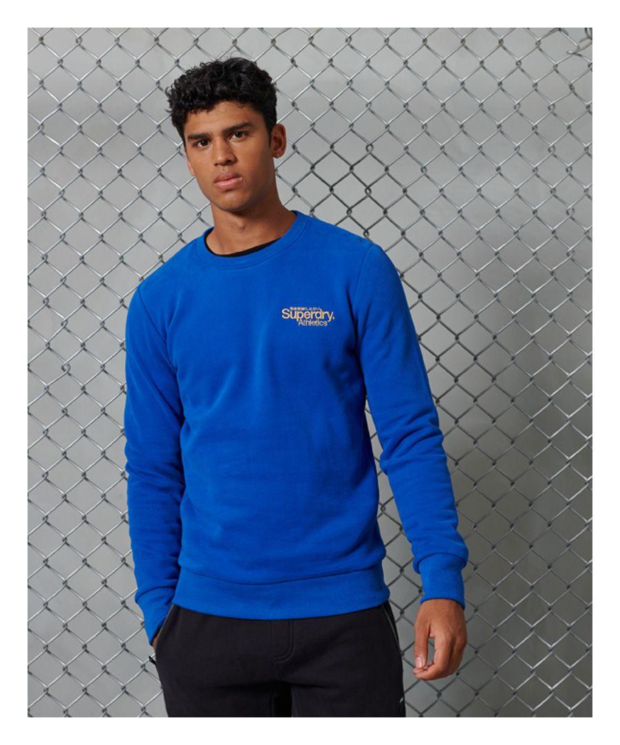 Image for Superdry Core Logo Athletics Crew Sweatshirt