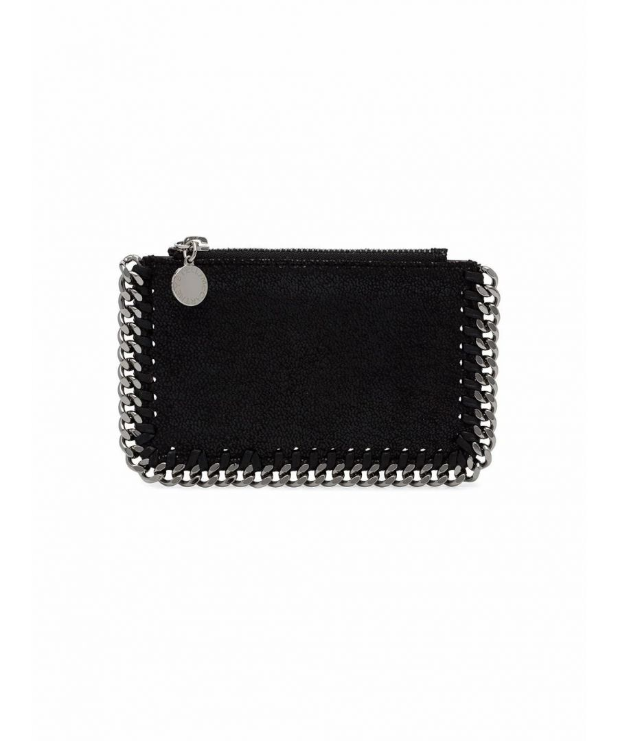 Image for STELLA MCCARTNEY WOMEN'S 422364W91321000 BLACK POLYESTER CARD HOLDER