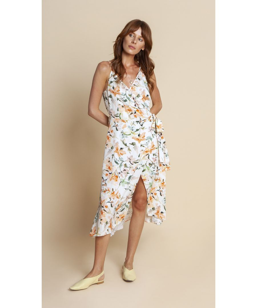 Image for Dress Blanca Floral White
