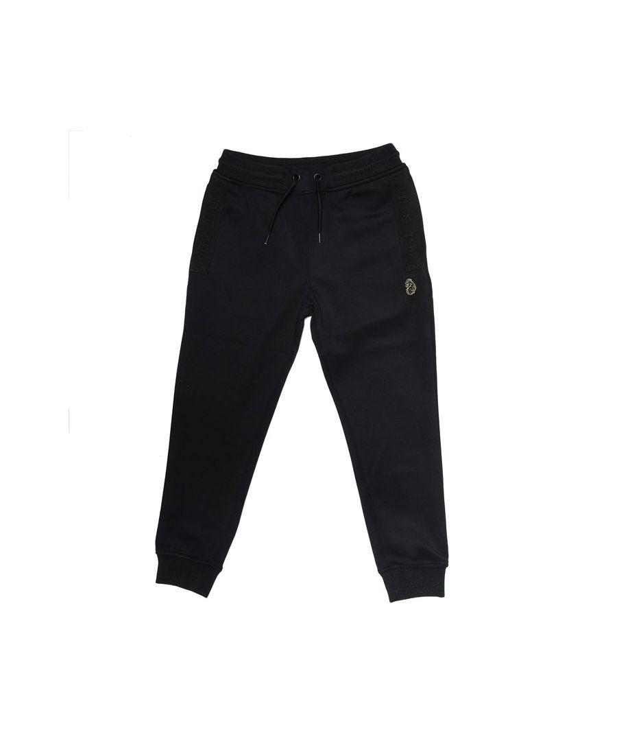 Image for Boys' Luke 1977 Junior Trico Jog Pant in Black