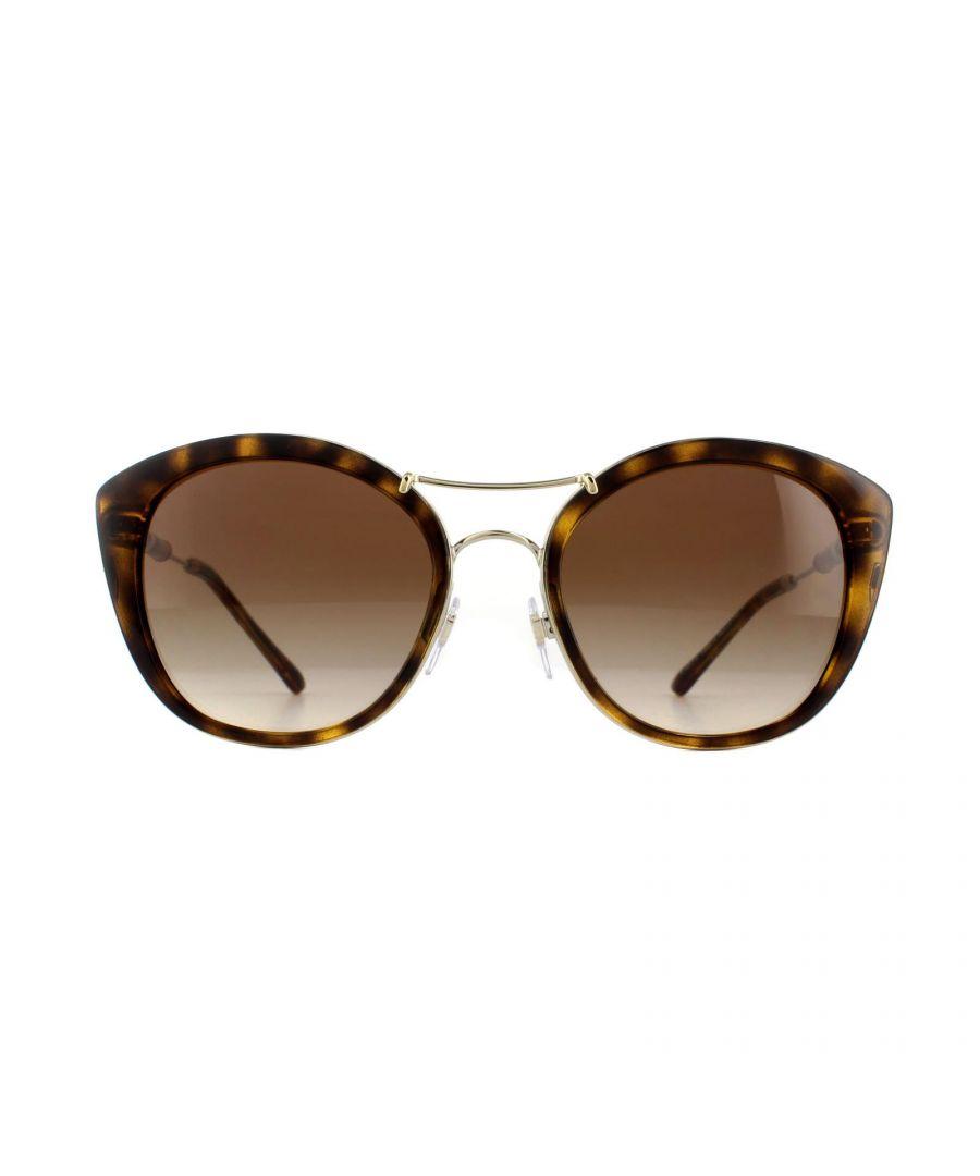 Image for Burberry Sunglasses BE4251Q 300213 Dark Havana Brown Gradient