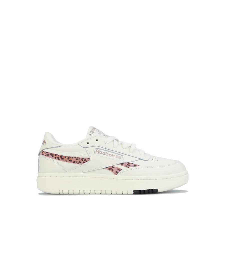 Image for Women's Reebok Classics Club C Double Trainers in Chalk