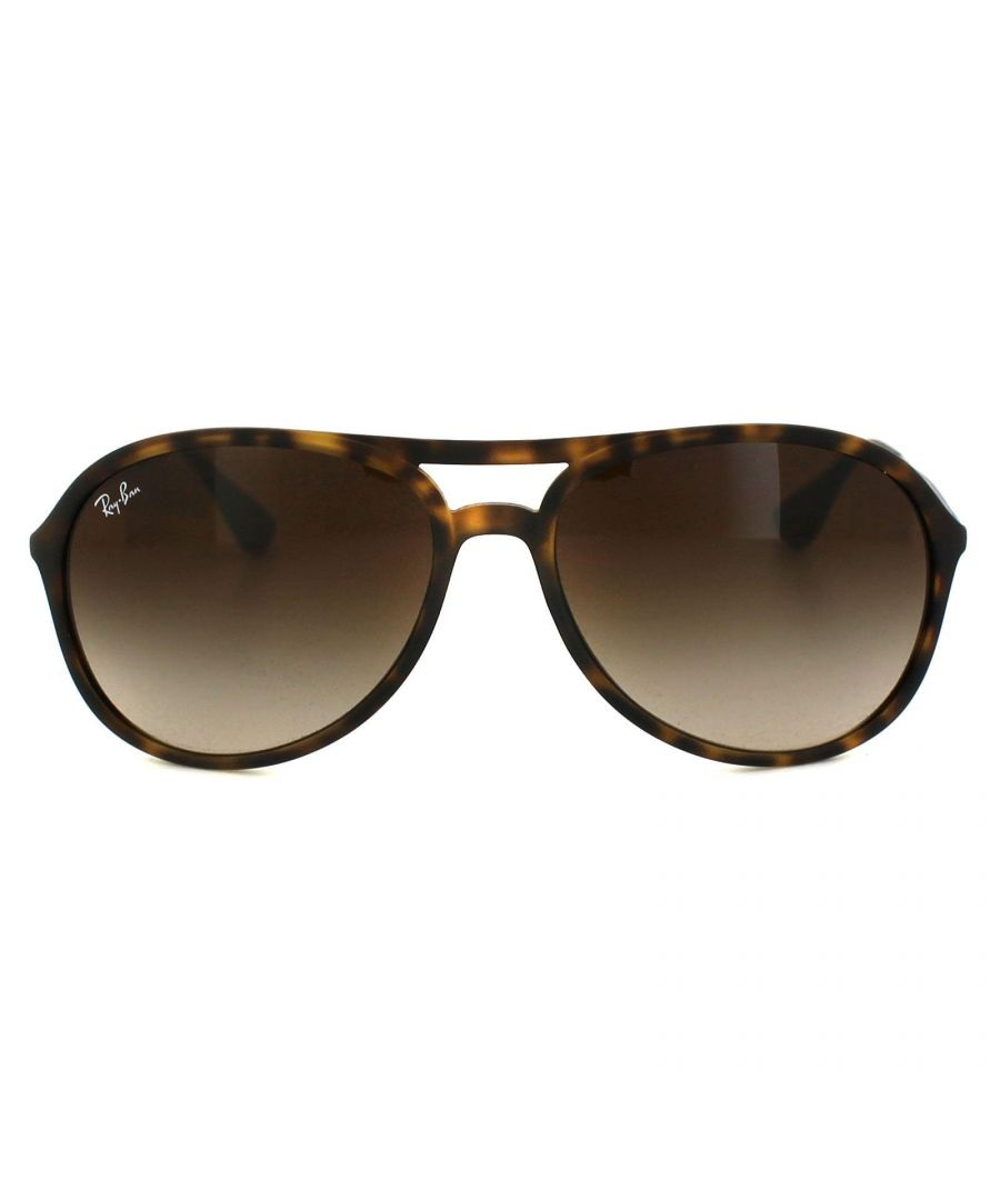 Image for Ray-Ban Sunglasses Alex 4201 865/13 Rubber Havana Brown Gradient