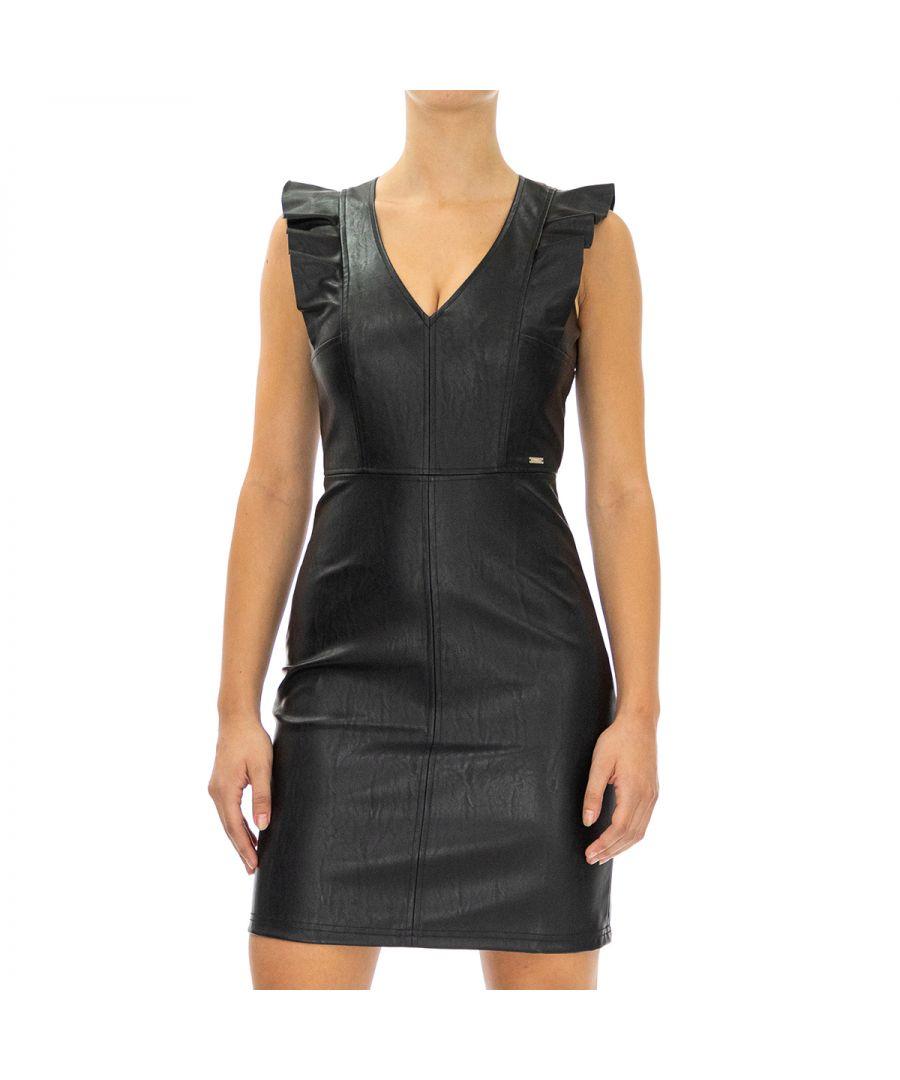 Image for Armani Exchange Women's Sleeveless Dress in Black