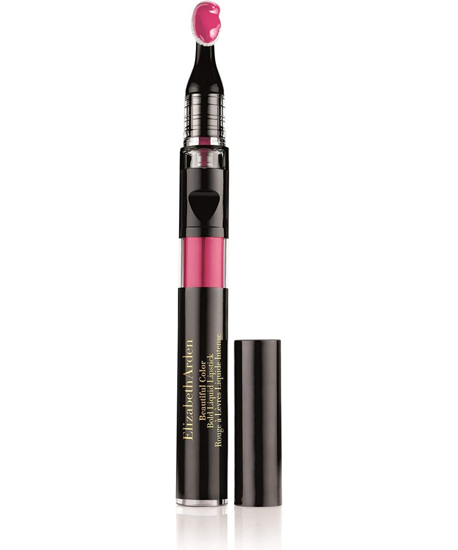 Image for Elizabeth Arden Beautiful Colour Bold Liquid Lipstick - 01 Extreme Pink